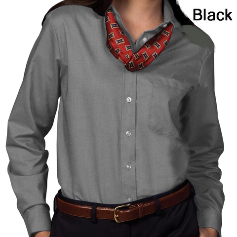 Women's Oxford Long Sleeve Shirt