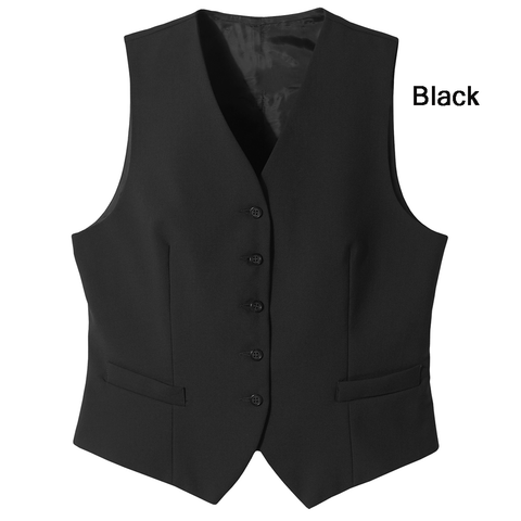 Women's Tailored Wool Vest