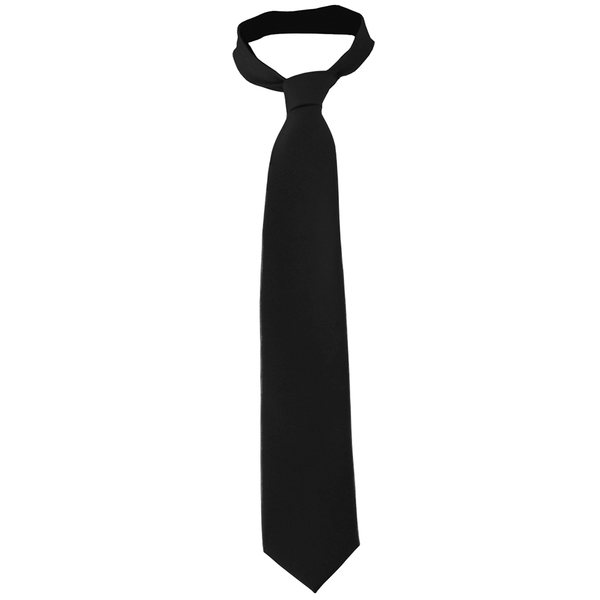 Solid Color Necktie