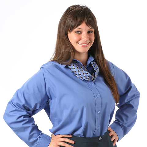 Women's Broadcloth Long Sleeve Shirt
