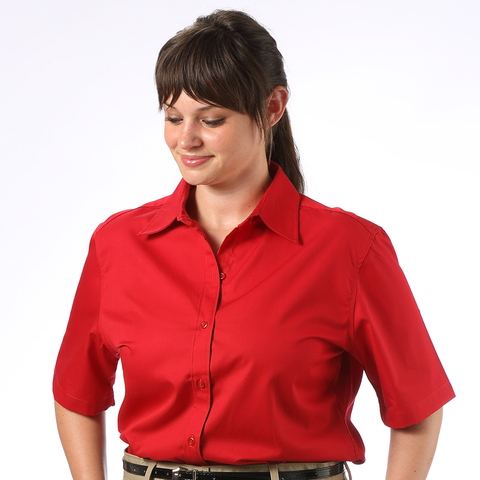 Women's Twill Short Sleeve Shirt