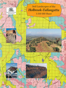 Soil Landscapes of the Holbrook-Tallangatta 1:100 000 Sheets report cover