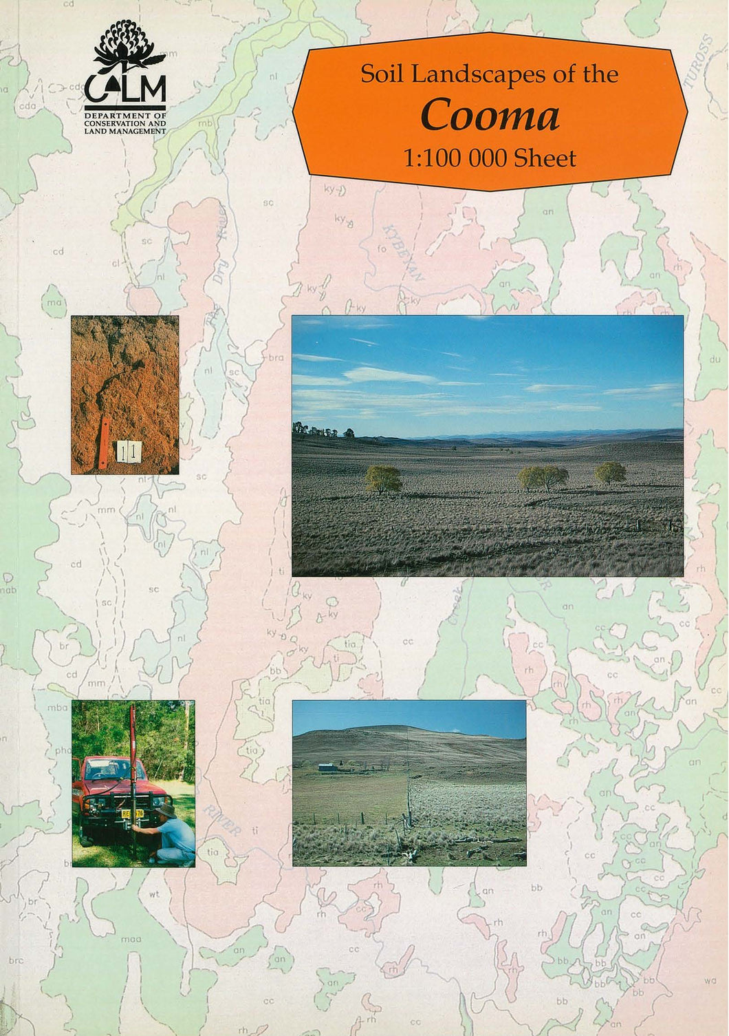 Soil Landscapes of the Cooma 1:100 000 Sheet report cover