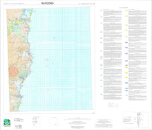 Load image into Gallery viewer, Soil Landscapes of the Narooma 1:100 000 Sheet map