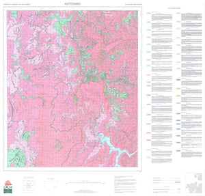 Soil Landscapes of the Katoomba 1:100 000 Sheet map