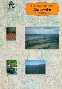 Soil Landscapes of the Katoomba 1:100 000 Sheet report cover