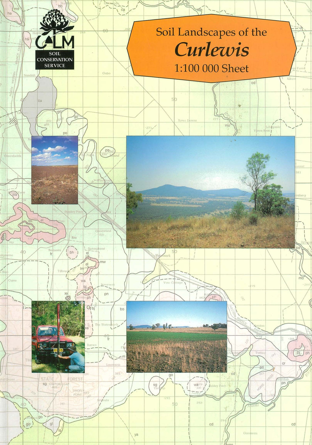 Soil Landscapes of the Curlewis 1:100 000 Sheet report cover