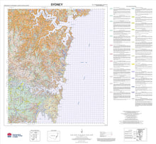 Load image into Gallery viewer, Soil Landscapes of the Sydney 1:100 000 Sheet map