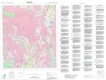 Load image into Gallery viewer, Soil Landscapes of the Dungog 1:100 000 Sheet map
