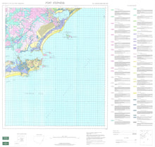 Load image into Gallery viewer, Soil Landscapes of the Port Stephens 1:100 000 Sheet map