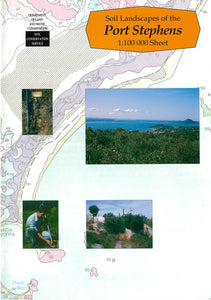 Soil Landscapes of the Port Stephens 1:100 000 Sheet report cover