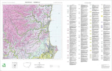 Load image into Gallery viewer, Soil Landscapes of the Macksville-Nambucca 1:100 000 Sheets map