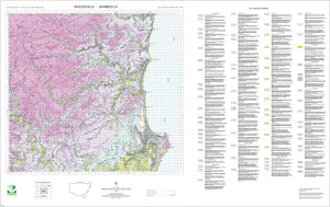 Soil Landscapes of the Macksville-Nambucca 1:100 000 Sheets map