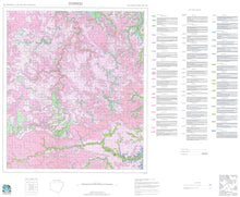 Load image into Gallery viewer, Soil Landscapes of the Dorrigo 1:100 000 Sheet map
