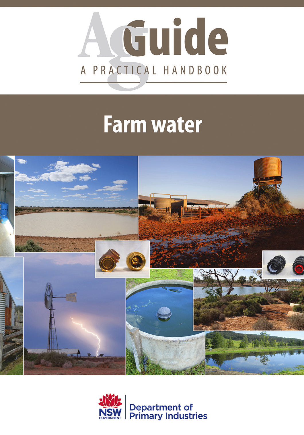AG Farm water bookcover