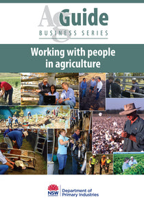 AG People in Ag bookcover