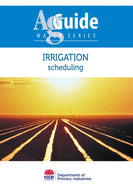 AG Water scheduling bookcover