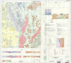 Image of Lachlan Downs 1:100000 Geological map