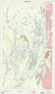 Image of Parkes Special 1:100000 Geological map