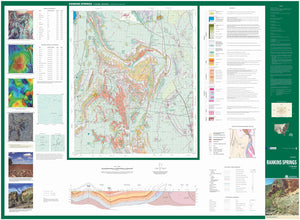 Image of Rankins Springs 1:100000 Geological map