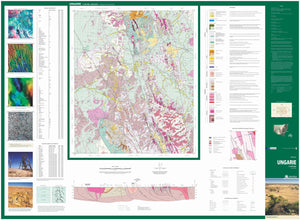 Image of Ungarie 1:100000 Geological map