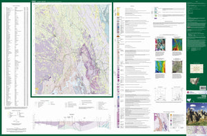 Image of Yass 1:100000 Geological map