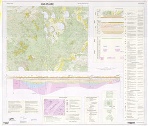 Image of Ana Branch 1:250000 Geological map