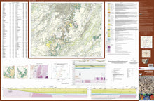 Load image into Gallery viewer, Image of Angledool 1:250000 Geological map