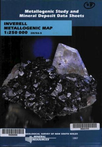 Image of Inverell Metallogenic Map Explanatory Notes 1997 book cover