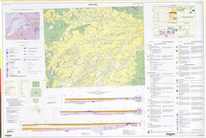 Image of Booligal 1:250000 Geological map