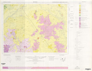 Image of Bourke 1:250000 Geological map