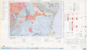 Image of Dorrigo   Coffs Harbour 1:250000 Geological map