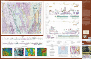 Image of Goulburn 1:250000 Geological map
