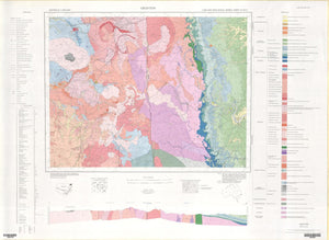 Image of Grafton 1:250000 Geological map