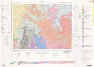 Image of Inverell 1:250000 Geological map