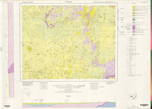 Image of Ivanhoe 1:250000 Geological map