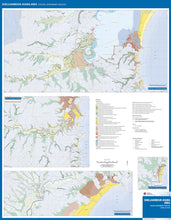 Load image into Gallery viewer, Image of reverse side of the Shellharbour Kiama Area Coastal Quaternary Geology map.