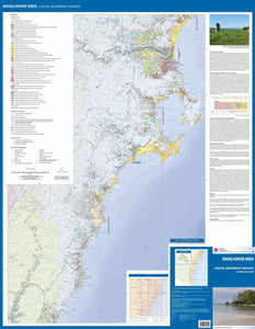 Image of Shoalhaven Area Coastal Quaternary Geology map