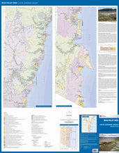 Load image into Gallery viewer, Image of Bega Valley Area Coastal Quaternary Geology map