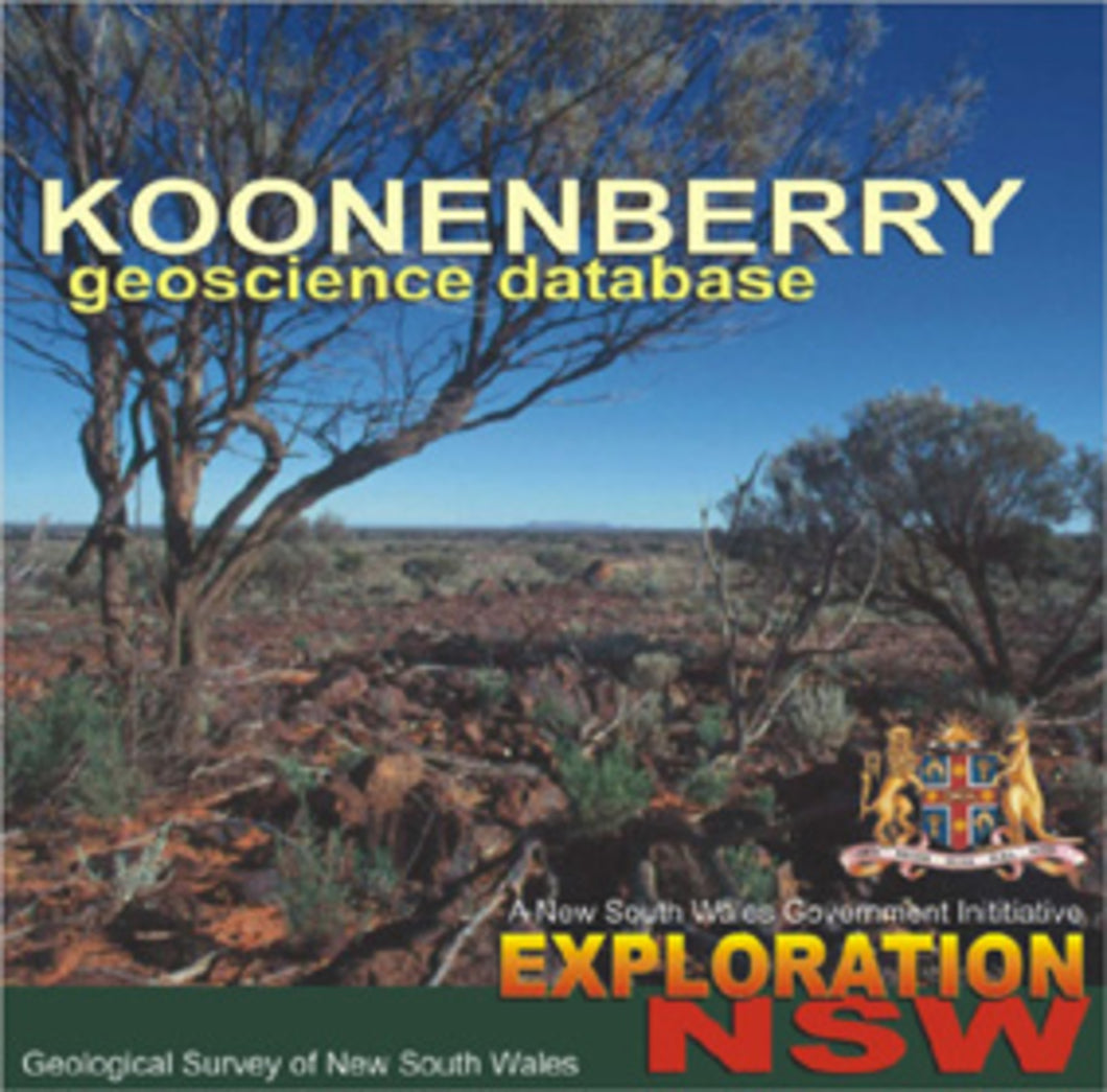 Image of Koonenberry Geoscience Database   Version 1b digital data package