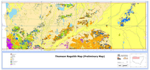 Image of Thomson Orogen 1:400000 Regolith map