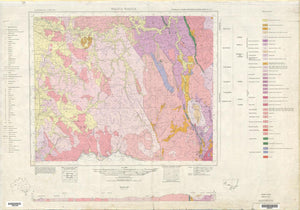 Image of Wagga Wagga 1:250000 Geological map