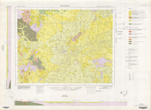 Image of Wilcannia 1:250000 Geological map