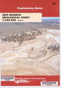 Image of Ana Branch Explanatory Notes 1996 book cover