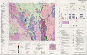 Image of Cootamundra 1:250000 Metallogenic map