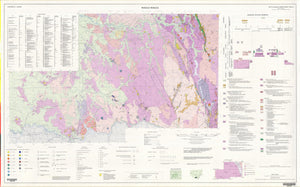 Image of Wagga Wagga 1:250000 Metallogenic map