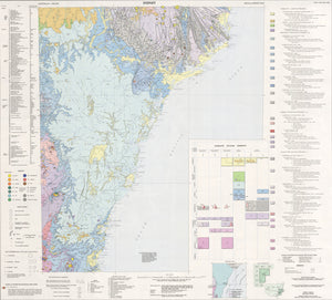 Image of Sydney 1:500000 Metallogenic map