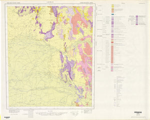 Image of Lachlan 1:500000 Geological map