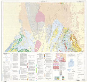Image of Brewery Well 1:25000 Geological map