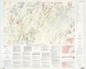 Image of Broken Hill 1:25000 Geological map